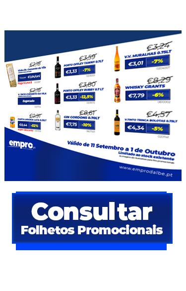 promoção bebidas folhetos promocionais empro